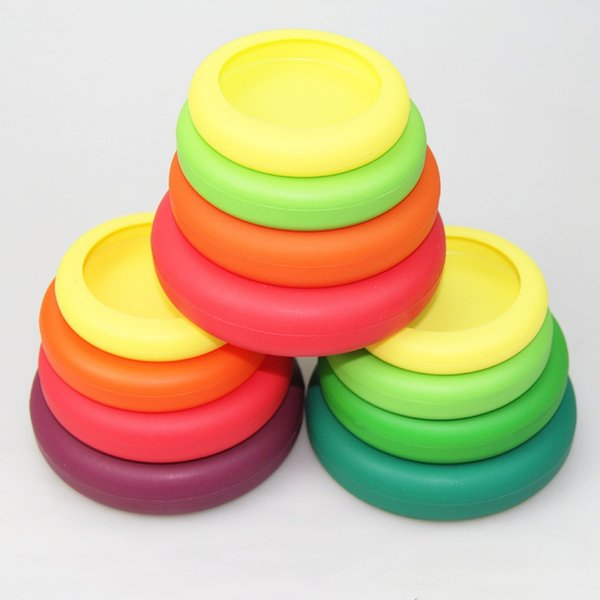 Food Huggers Food Grade Silicone Fruit And Vegetable Lid Plastic Fresh Cover Multifunction Seal Vacuum Cover Fruits Lid Kitchen Accessories