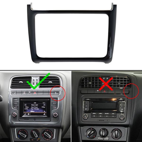 Android автомобильный DVD рамка для Volkswagen VW Polo 2014~2017 2 Din Авто радио Bluetooth USB SD стерео Fascias плеер панель приборной панели