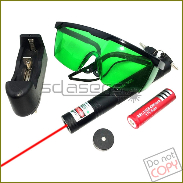 SDLasers S5BR Adjustable Focus 650nm Red Laser Pointer Laser Torch