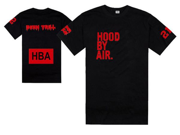 Neuer Sommer T-Shirt HBA T-Shirt Haube durch Luft HBA X Trill Kanye West-T-Shirt 100% Baumwolle freies Verschiffen gewesen