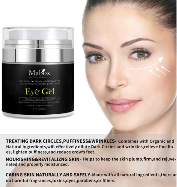 La fabbrica direttamente vende i nuovi prodotti anti - invecchiamento chiaro - le borse dell'occhio del gel della crema dell'occhio della grinza rimuovono i cerchi scuri che idratano
