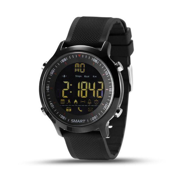 Smart Watch IP67 Водонепроницаемый 5ATM Пассометр Плавание Smartwatch Спортивные мероприятия Трекер Bluetooth Смарт Наручные Часы Для IOS Android Часы