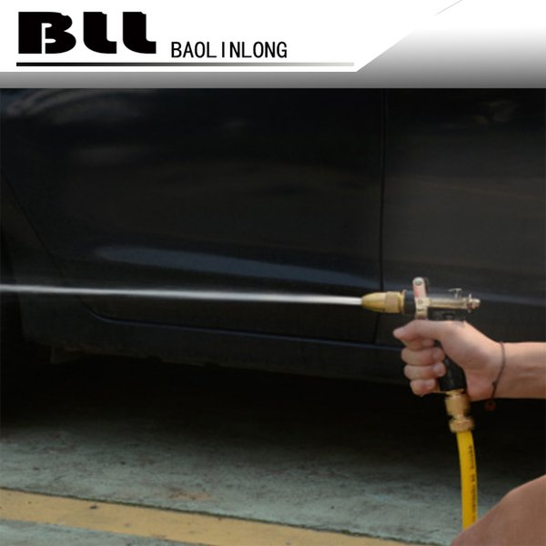 top popular Adjustable Copper Brass Hose Spray Nozzle Brass Gun Garden Hose Water Pressure Guns For Garden Watering Cars Vehicles Washing 2021