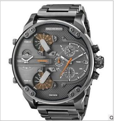 Reloj de cuarzo deportivo DZ Watch para hombre Montre luxe Reloj de pulsera militar Atmos Clock 50MM Reloj de pulsera multicolor Multi Time Zone Montre homme 7312