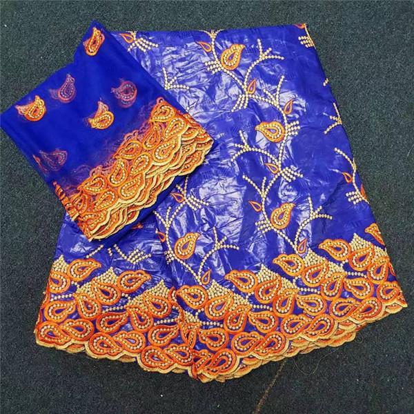 Africain bazin Riche Tissu De Broderie Africaine De Haute Qualité bazin Riche Getzner Pour La Couture De Patchwork 30