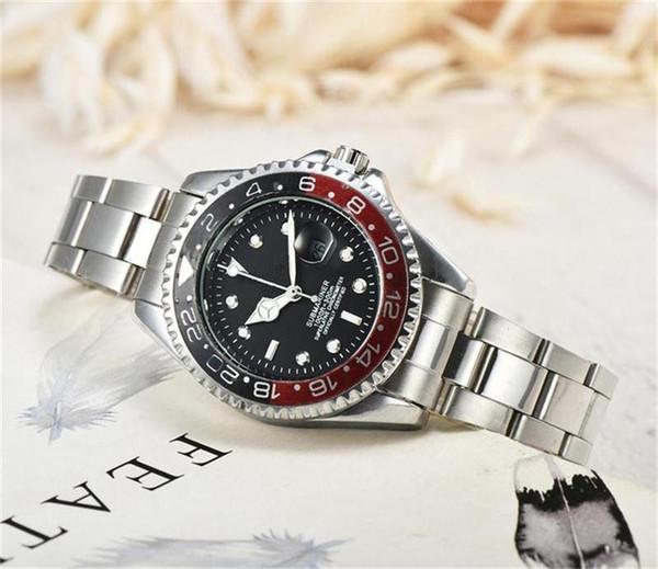 Top Fashion 36 mm Frauen Quarz Uhren Edelstahl Armband Kalender Faltschließe Luxus Damen Quarz Uhren