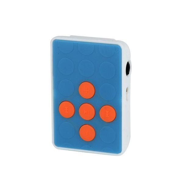 Novo Mini USB Clipe MP3 Player Suporta USB 2.0 / 1.1 de Plástico Fácil Carry Metal Caso Suporte 32 GB Micro SD Cartão TF Headset 10Aug 1