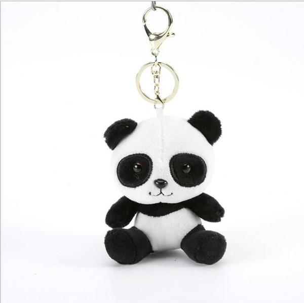 60% Lovely Panda Fashion Keychain Peluche Kids Morbido Piccolo Charms Peluche KeyChain Peluche Bambola Giocattoli Final Fantasy