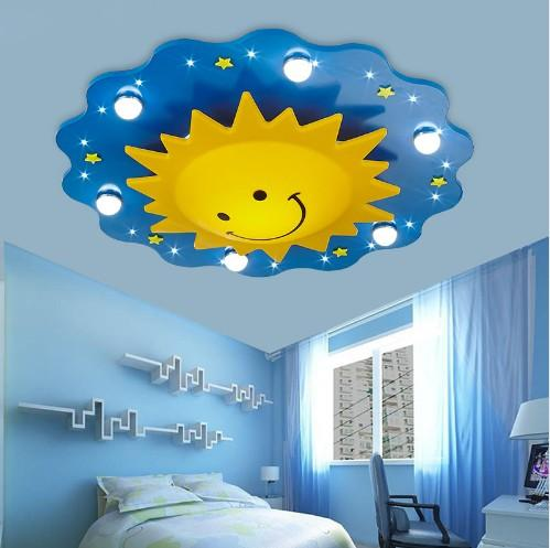 2019 Surface Mounted Children Ceiling Lamps Kids Bedroom Cartoon Sun  Decoration Chandelier Light LED Light Source LLFA From Volvo Dh2010,  $364.83 | ...