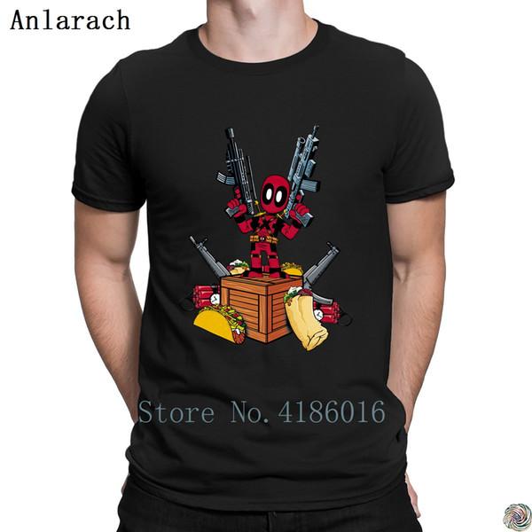 Deadpool Fundamentals t-shirt cool Pop Top Tee cotton Fit men's tshirt designer gents New Arrival summer