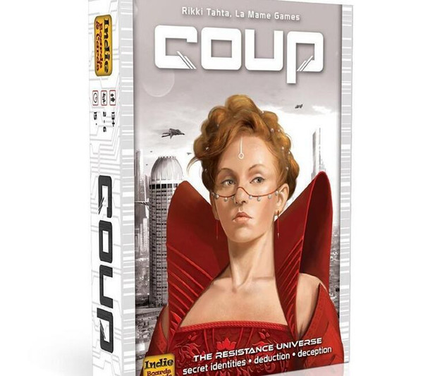 2018 New Urban rebellion Coup Full English version basic game board game party cards FREE SHIPPING