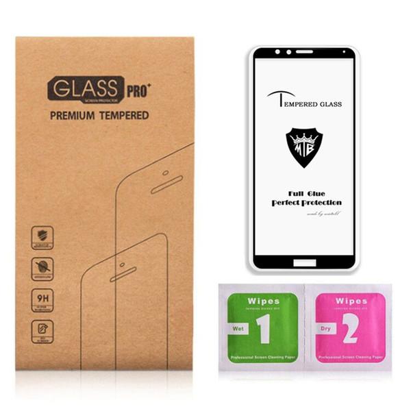 Vetro temperato per cover per pannello a schermo intero per Huawei P20, vetro temperato antipolvere per microfono temperato per Huawei Honor 10