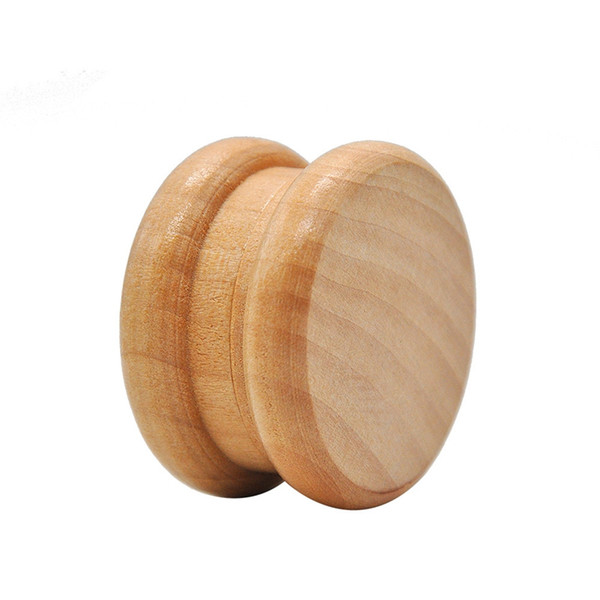 Belle En Bois Tabac Grinder Épice Herbe Poignée En Bois Broyeur Broyeur 55mm Bamboo Grinder Pour Fumer Rouleuse