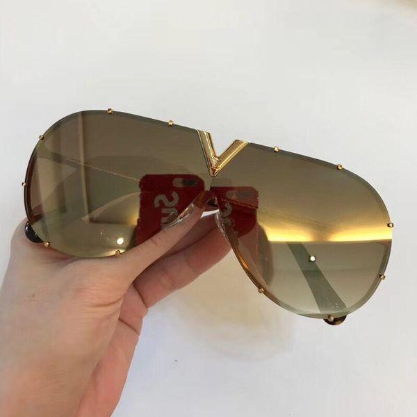 goldene Spiegel-Objektiv