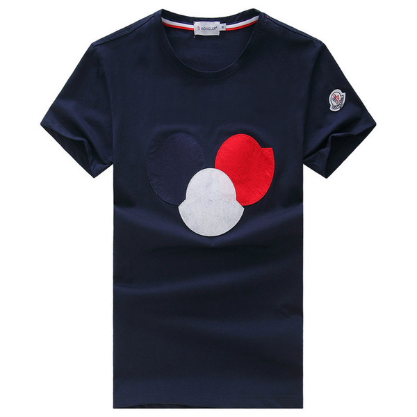 Мужская футболка с коротким рукавом круглый воротник лето новый стиль футболка свободные Половина рукава верхняя одежда корейский мужская мода мужская одежда днища