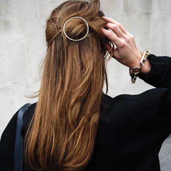 Unique Hiar Stick Circle Arrow Fork Hair Pins & Clips Fashion Women Hair Accessories Jewelry
