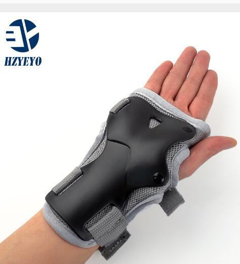 Wrist Guards Support Palm Pads Protector For Inline Skating Ski Snowboard Roller Gear Protection Men Women HZYEYO H008