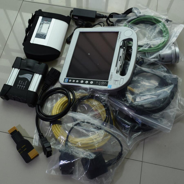 Best For BMW ICOM NEXT A+B+C with MB STAR C4 diagnosis tool + 1TB HDD sd c4 icom a2 win7 + CF-h2 Toughbook laptop