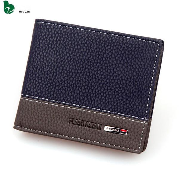 Luxury Designer Famous hot Men Wallet Perse Short Portfolio Leather Male Coin Purse Card Holder Walet Money Bag Vallet Cuzdan