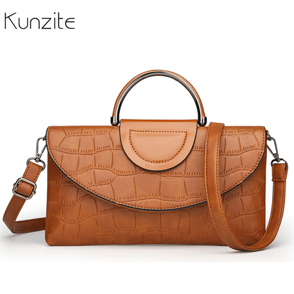 Alligator Pattern Leather Crossbody Bags for Women Envelope Messenger Bag Frame Shoulder Bag Ladies Hand Bags Handbags Clutch