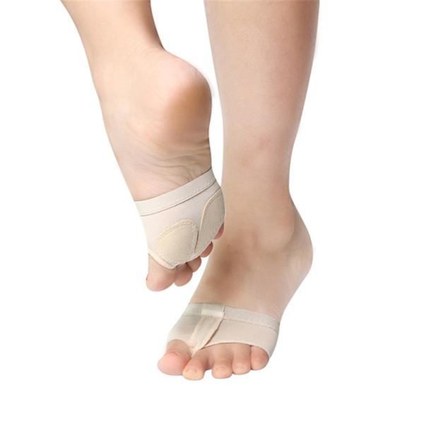 Уход за ногами носки инструмент балет живота танец ноги стринги Toe Pad практика обувь плюсневой стопы половина защиты ног
