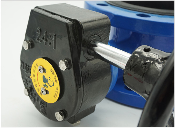 best selling DN50 PN 1.6 soft seal manual clamping butterfly valve GB standard
