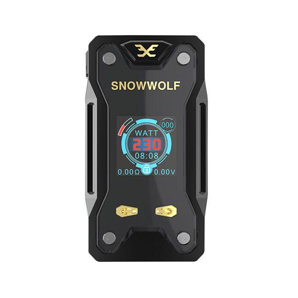 100% Original Snowwolf Xfeng 230W TC Box Mod Fit for Dual 18650 Battery Sigelei Snow wolf Xfeng 230W Vape Mod