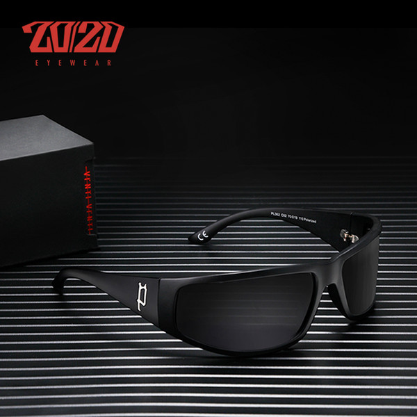 20/20 Brand Classic Polarized sunglasses Men Driving Sun Glasses Fashion Travel Male Glasses Eyewear Oculos Gafas PL362