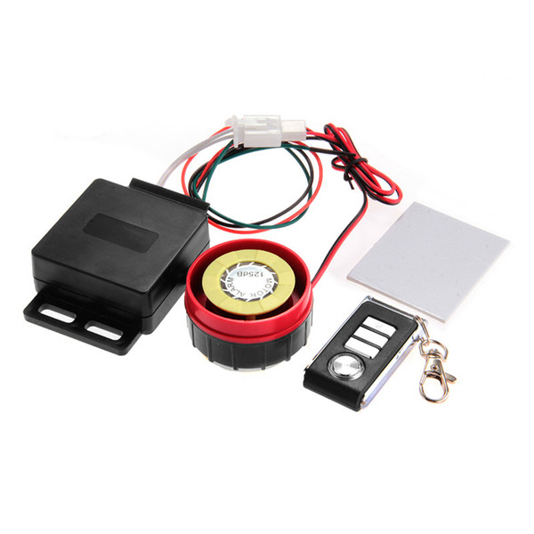 Motorcycle Alarm Remote Control Anti-theft Security System Vibration Lock Burglar Alarm Motor Sensor Horn Motorcycl Accessories