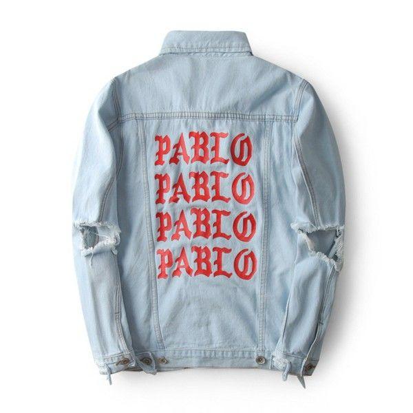 Men's Jackets 2018 Autumn Red Print PABLO light blue denim jacket Men/Women motorcycle stylish Outerwear cowboy clothing bomber Loose coat