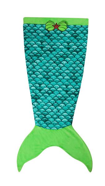 2018 yeni 13 renkler sonbahar ve kış Moda Sevimli Yumuşak mermaid kuyruk battaniye çocuk uyku tulumu