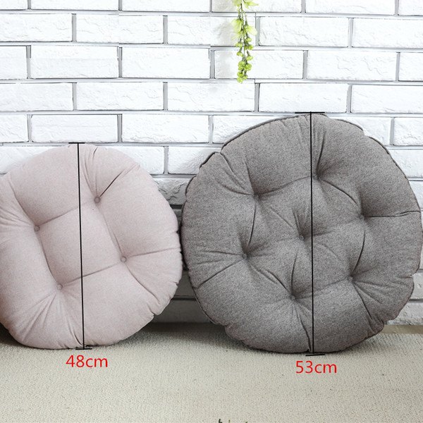 Super Chair Cushions Dining Room Home Sofa Throw Pillow Floor Mat Office Chair Seat Cushion Sitting Outdoor Furniture Round 48Cm 53Cm Outdoor Bar Stool Ncnpc Chair Design For Home Ncnpcorg