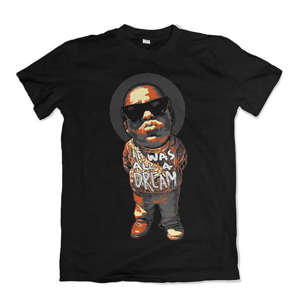 NOTORIOUS B.I.G T SHIRT BIGGIE SMALLS RAP MUSIC Funny free shipping Unisex Casual gift