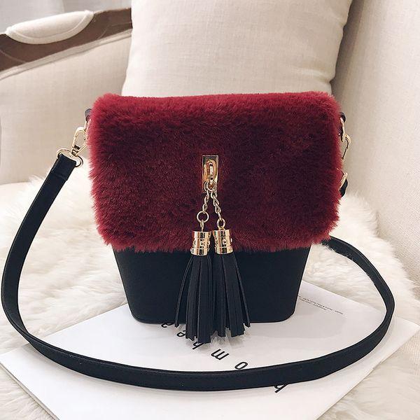 Chinese style Two-tone shoulder Tassel bags cross body purse Strap bags lady colorful gems Jewels Dakawanggong /10