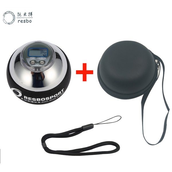 48LBS Strengthener Super Power Wrist Ball Metal Forearm Muscle Training Pressure Relieve Gyroscope Exerciser Force Wrist Ball