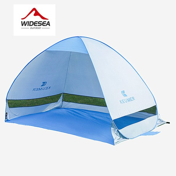 Quick Automatic Opening Beach Tent Sun Shelter Uv -Protective Tent Shade Waterproof Pop Up Open For Outdoor Camping Fishing