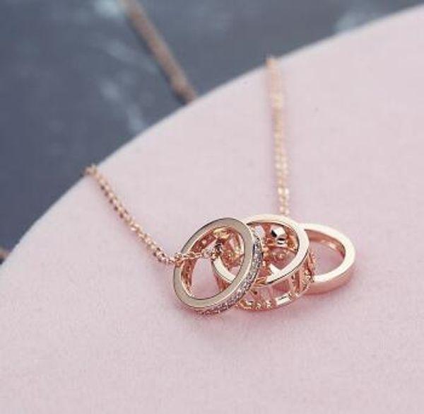 Fashion Square Cristal Bracelets plaqué or rose chaîne femmes mariage bijoux