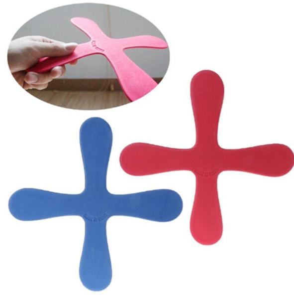EVA Boomerang Cross Form Fliegen Spielzeug Outdoor Park Untertasse Lustiges Spiel Kinder Sport Werfen und Fangen Flying Disc Kinder Spielzeug KKA6006