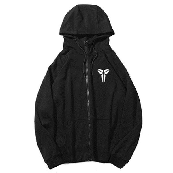 Thin Basketball Star LOGO Sportwear Men Male Hoodies Sweatshirts Fashion Coat Hoodie Tracksuit Black and Grey for Autumn Winter S-3XL