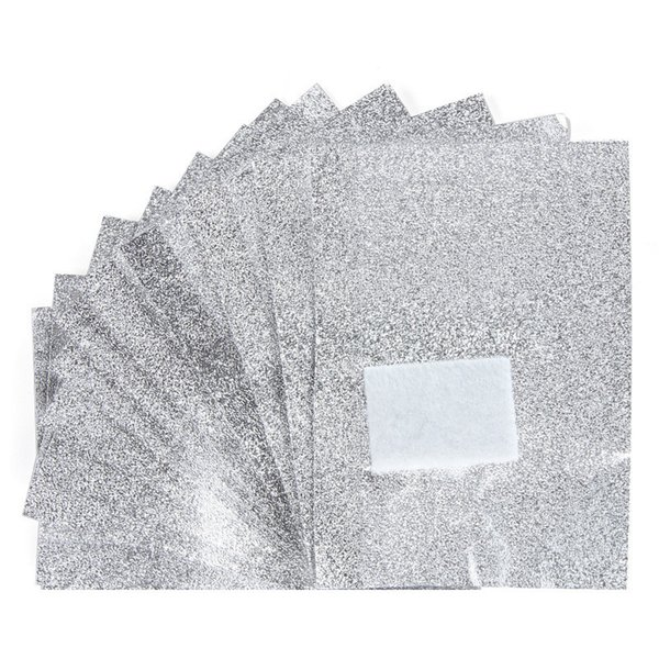 100Pcs/set Aluminium Foil Nail Art Soak Off Acrylic Gel Polish Nail Removal Wraps Remover Makeup Tool Nail Care free shipping 100set