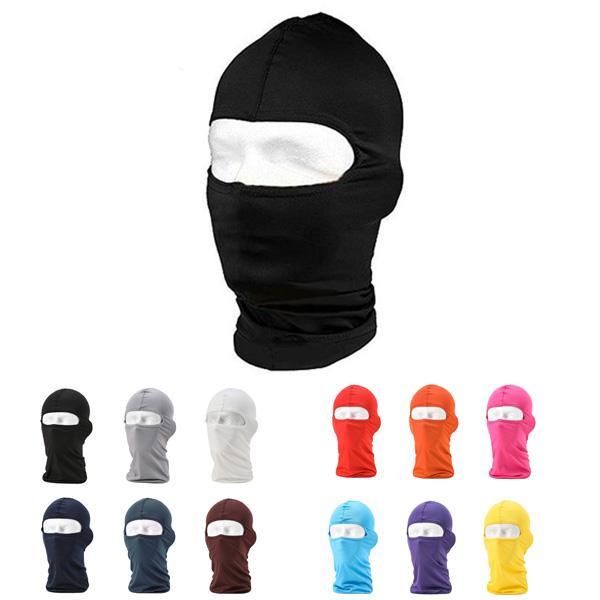 Outdoor Sports Balaclava Mask Windproof Full Face Neck milk Cotton Ninja Headgear Hat Riding Hiking Cycling cap Masks