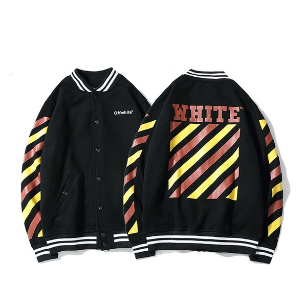 Jackets Coat 2018 Autumn And Winter New Pattern Tide Card Men And Women Teenagers Fashion Baseball Clothes Personality Street Loose