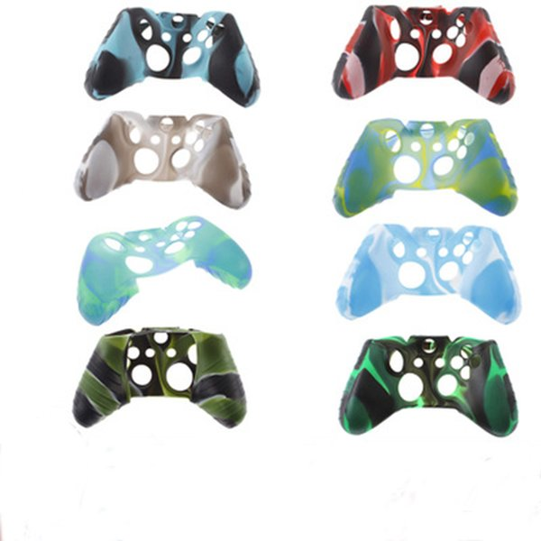 Per Xone Custodia morbida in gomma morbida per silicone Custodia protettiva per Xbox One Slim Grip Cover per controller OTH902