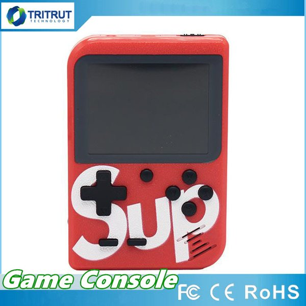 SUP Mini Handheld video Game Console Portable Retro 8 bit FC MODEL FOR FC can store 129 168 AV GAMES Color LCD Game Player For FC MQ50