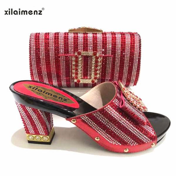 57fce0f63 50% скидка 2018 горячая распродажа осень итальянская женская обувь и сумка  для соответствия специальному дизайну