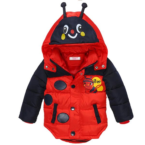 Großhandel Winter Jungen Jacken Dicke Baby Jungen Mäntel Cartoon Biene Jacke Für Kinder Kleidung Warm Outwear Kinder Kleidung Von Bdshop, $28.21 Auf