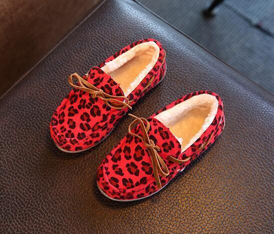 8990693d1 Leopardo Niños Con Compre Zapatos Estampados Niñas De Invierno wx0Ra ...