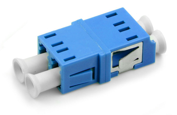 50pcs/lot LC-LC Fiber Optic adaptor FTTH DX SM Duplex LC UPC Flange Connector,FTTH Fiber Optic Adapter
