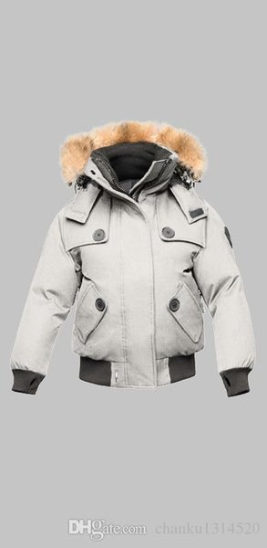 Women's Na-01-AUD 402 WINTER Down & Parkas WITH FUR HOOD/Snowdome jacket Brand Real Raccoon Fur Collar White Duck Outerwear & Coats
