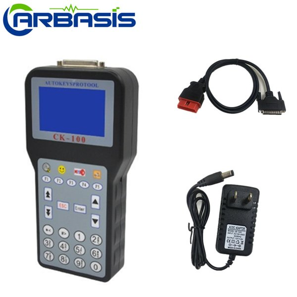 2018 Best Auto Key Programmer CK100 No Tokens Limited Car Key Maker V99.99 Latest Generation of SBB With 7 Language DHL free shipping